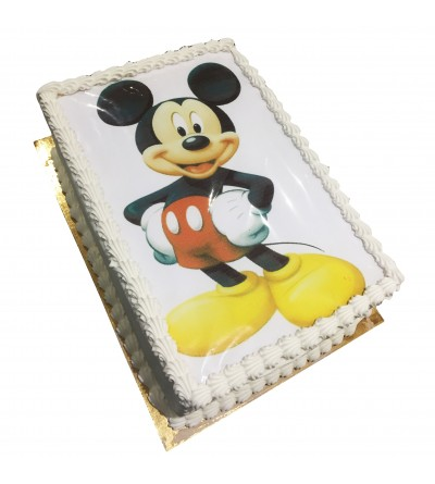 gateau photo micky